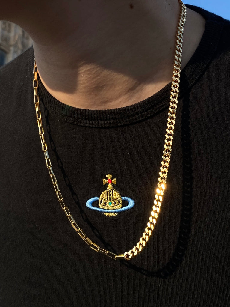 The Gold Thick Hybrid Chain