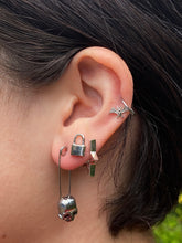 Load image into Gallery viewer, The Safety Skull Earrings
