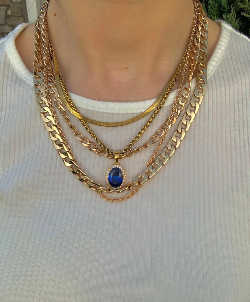 The Gold Gem Chain