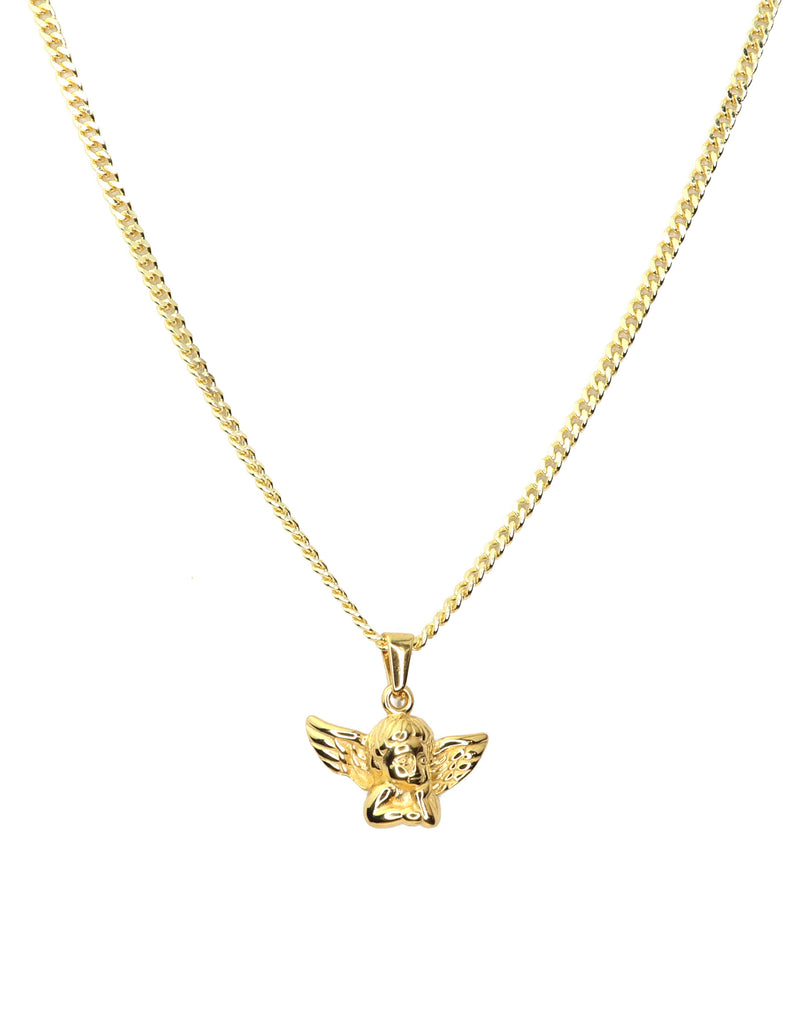 The Gold Baby Angel Chain