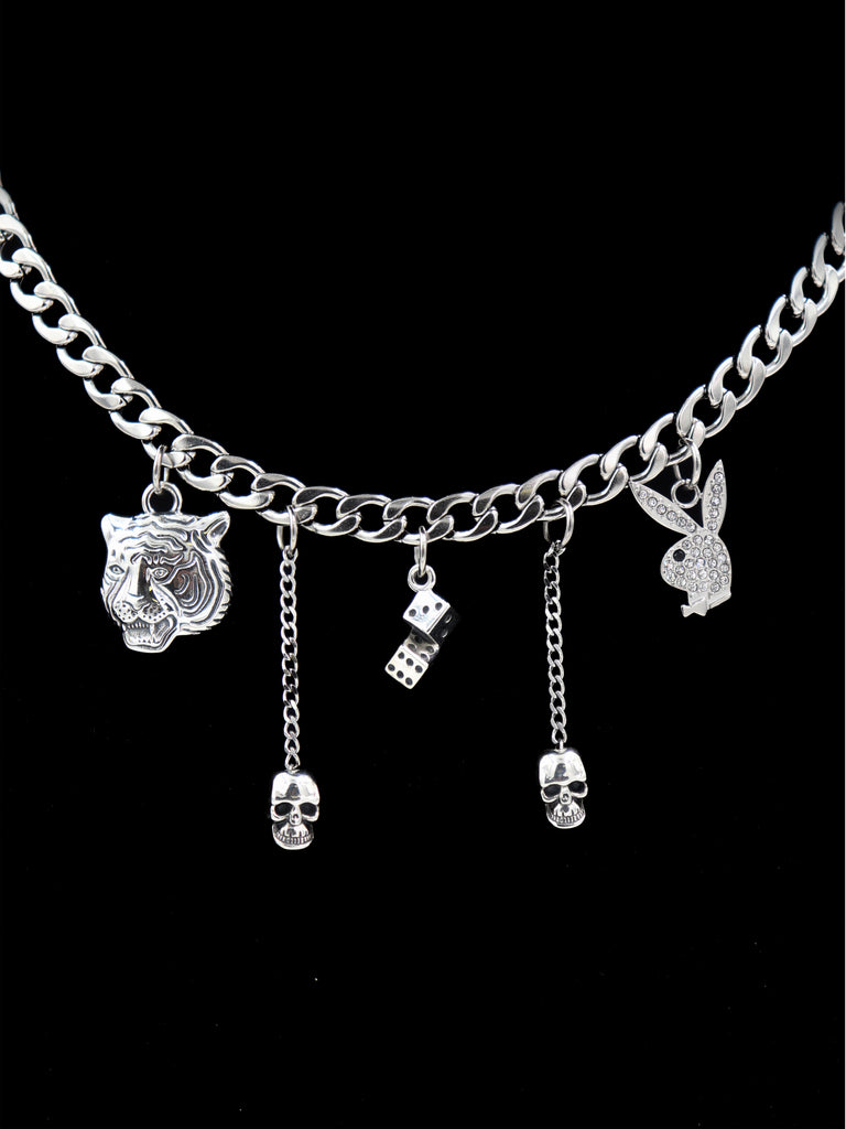 The Playboy Charm Necklace