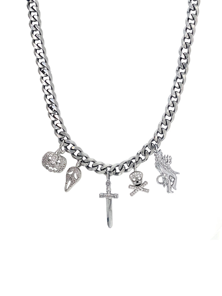 The Spooky Charm Necklace