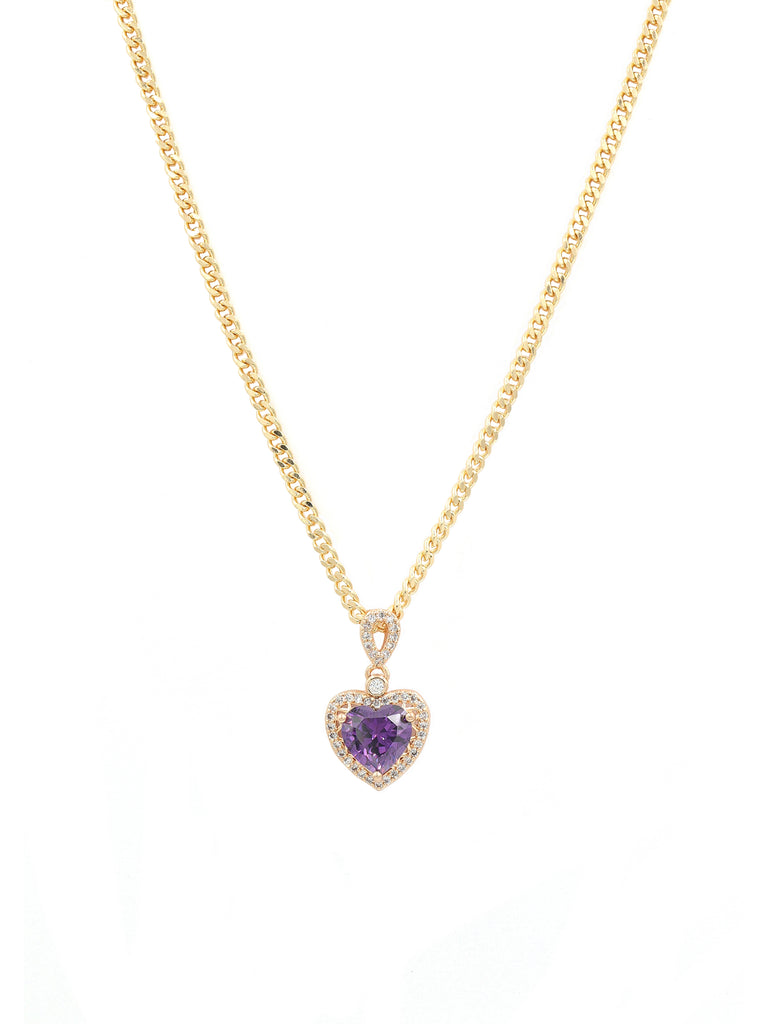The Purple Gold Sweetheart Chain