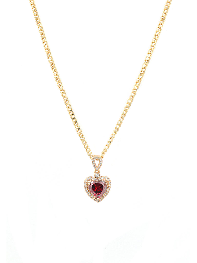 The Red Gold Sweetheart Chain
