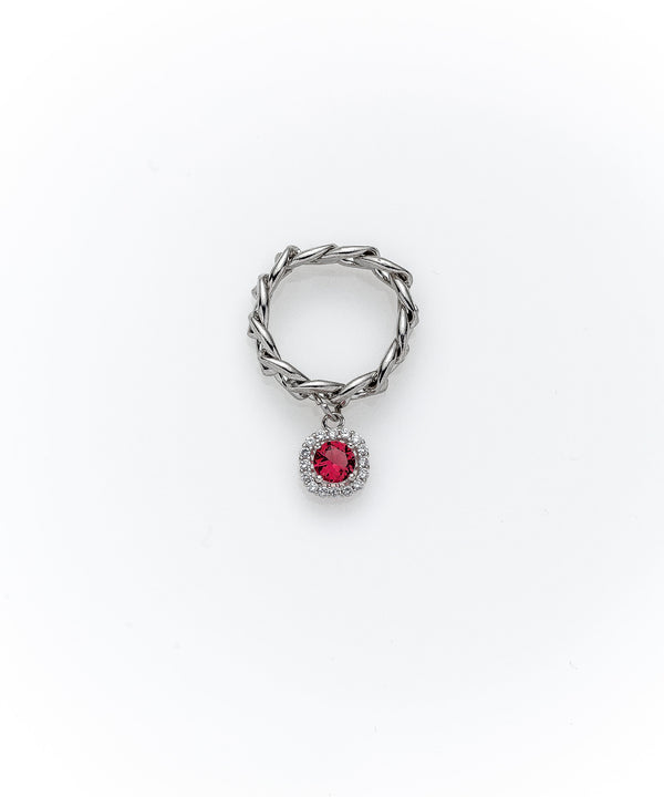The Mini Gem Ring-4 Colors