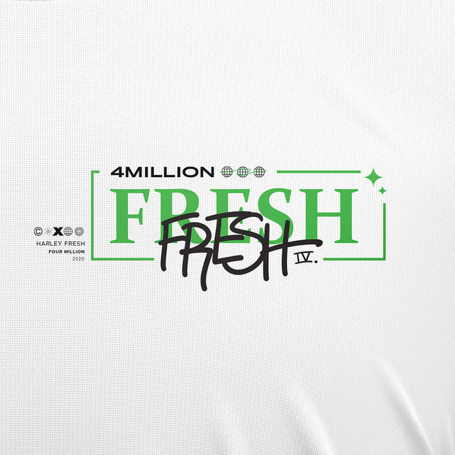 FRESH 4 MILLION SHIRT - WHITE