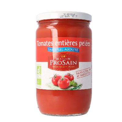 Tomates Entieres Pelees Hyposodees Pro