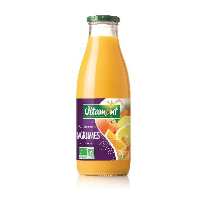 Jus 4 Agrumes 75 Cl Vitamont