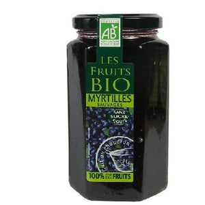 Les Fruits Bio Myrtilles 300g