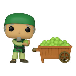 Avatar: The Last Airbender - Cabbage Man & Cart NYCC19 Deluxe Pop! Vinyl Figure
