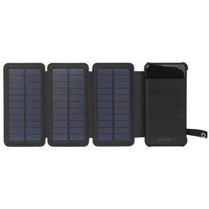 Cygnett CHARGEUP EXPLORER 8,000 mAh Power Bank with Solar Panels