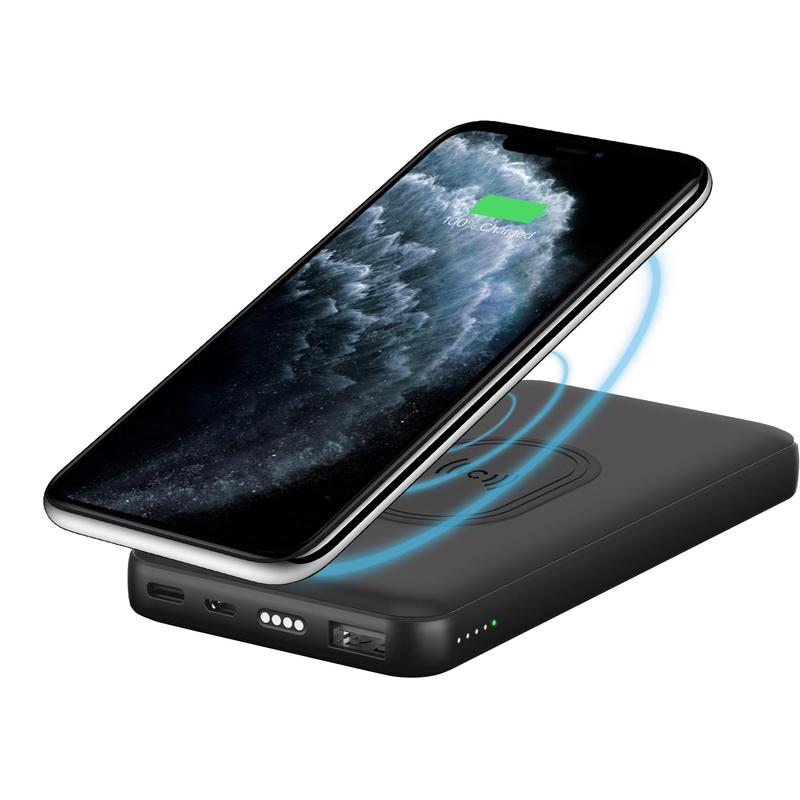 Cygnett CHARGEUP DUO 10,000 mAh Wireless Power Bank + Charging Dock