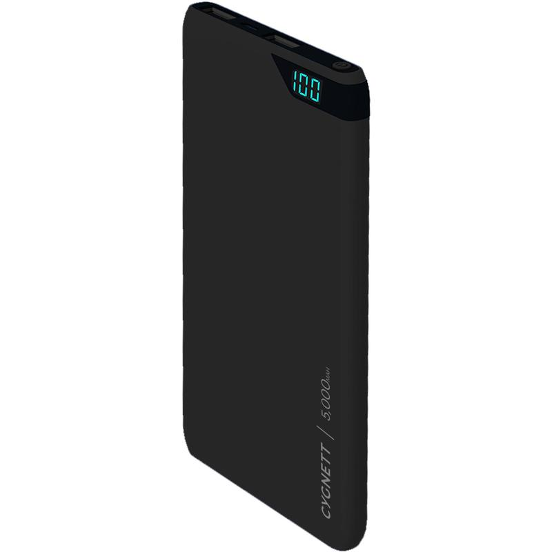 Cygnett CHARGEUP BOOST 5,000mAh Power Bank - Black