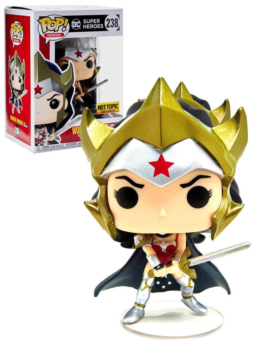 DC Super Heros - Wonder Woman From Flashpoint - Pop! Vinyl Figure #238