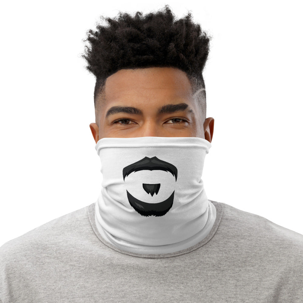 Neck Gaiter - Mustache Chin and Neck Beard