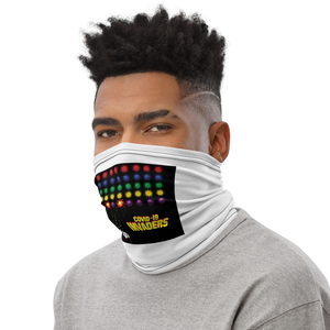 Neck Gaiter - COVID INVADERS, Funny Face Covering