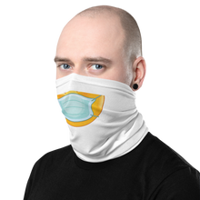 Load image into Gallery viewer, Neck Gaiter - emoji with face mask