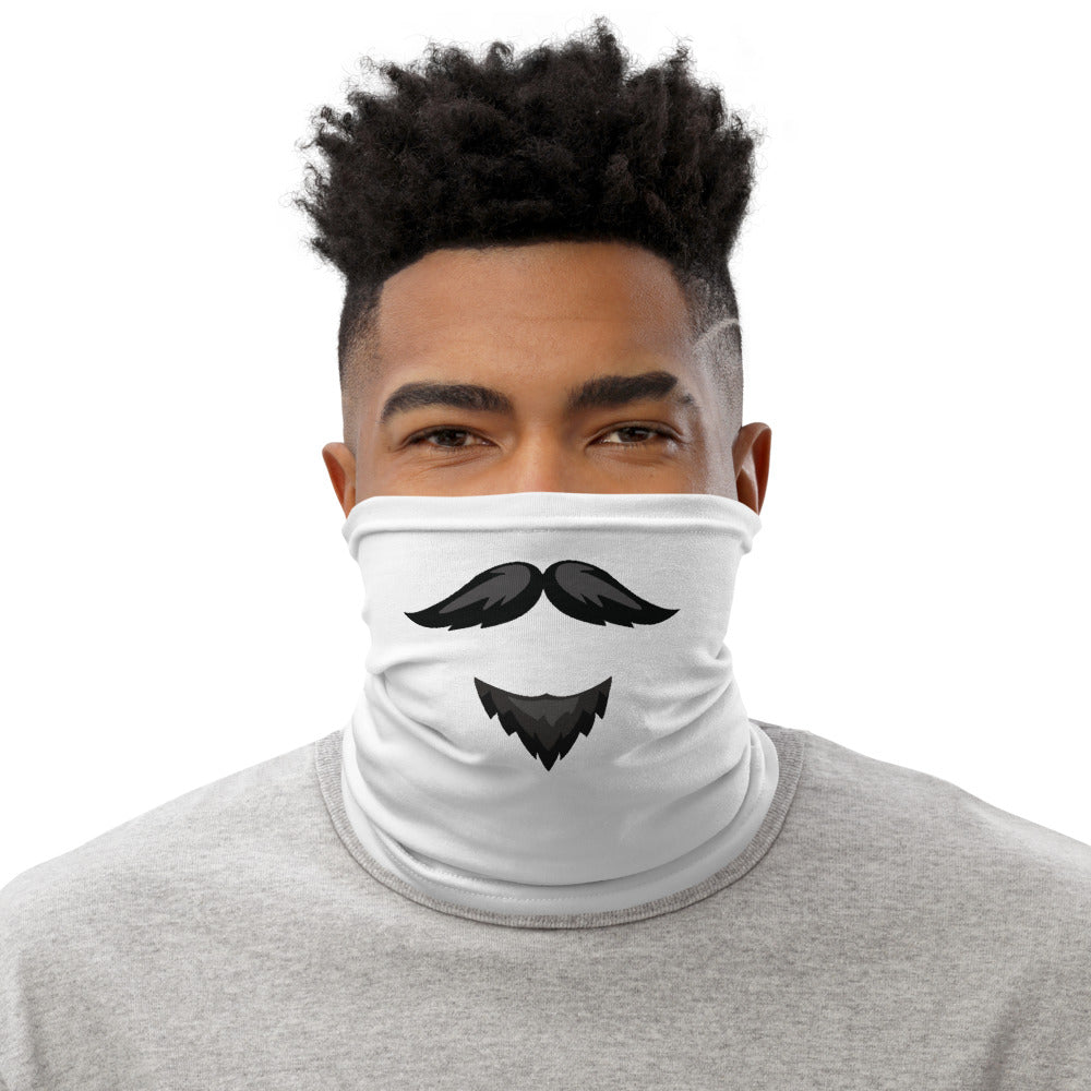 Neck Gaiter - Mustache and Goatee