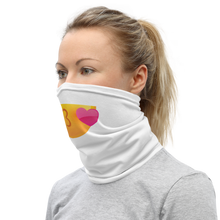 Load image into Gallery viewer, Neck Gaiter Emoji Blowing Kisses