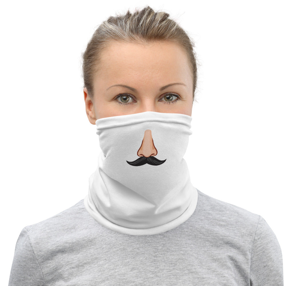 Neck Gaiter - Nose with Mustache Face Covering