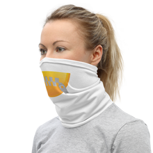 Load image into Gallery viewer, Neck Gaiter emoji with zipped lips