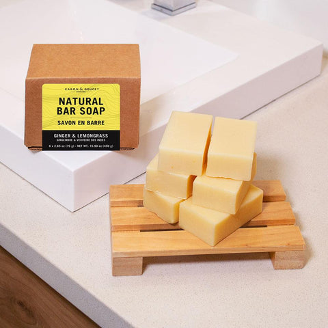 Ginger & Lemongrass Castile Bar Soap (6)