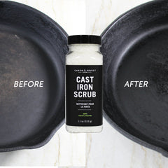 Cast Iron Salt Scrub Restorer, 11 oz