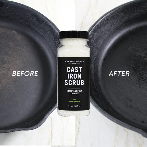Cast Iron Salt Scrub Restorer, 11oz