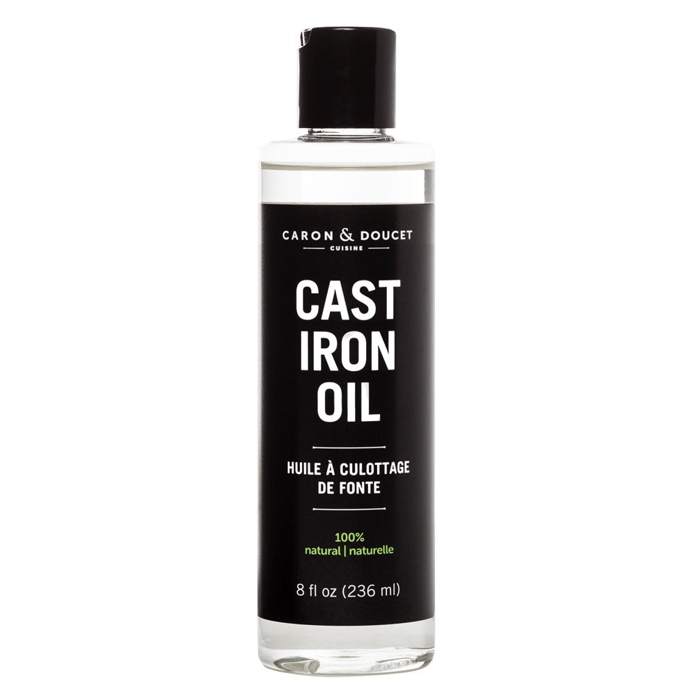 Cast Iron Seasoning Oil, 8oz
