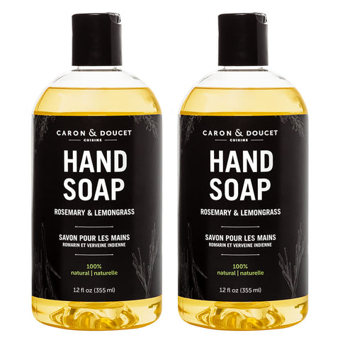 Rosemary & Lemongrass Hand Soap, 24 oz