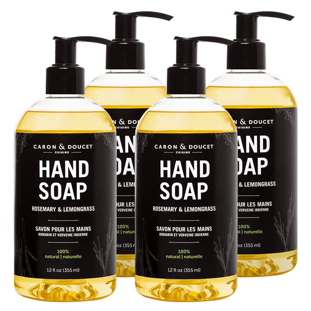 Rosemary & Lemongrass Hand Soap, 48 oz