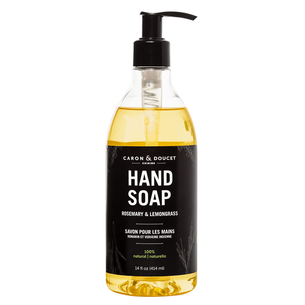 Rosemary & Lemongrass Hand Soap, 14 oz