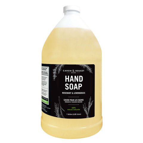 Rosemary & Lemongrass Hand Soap, 1 Gallon