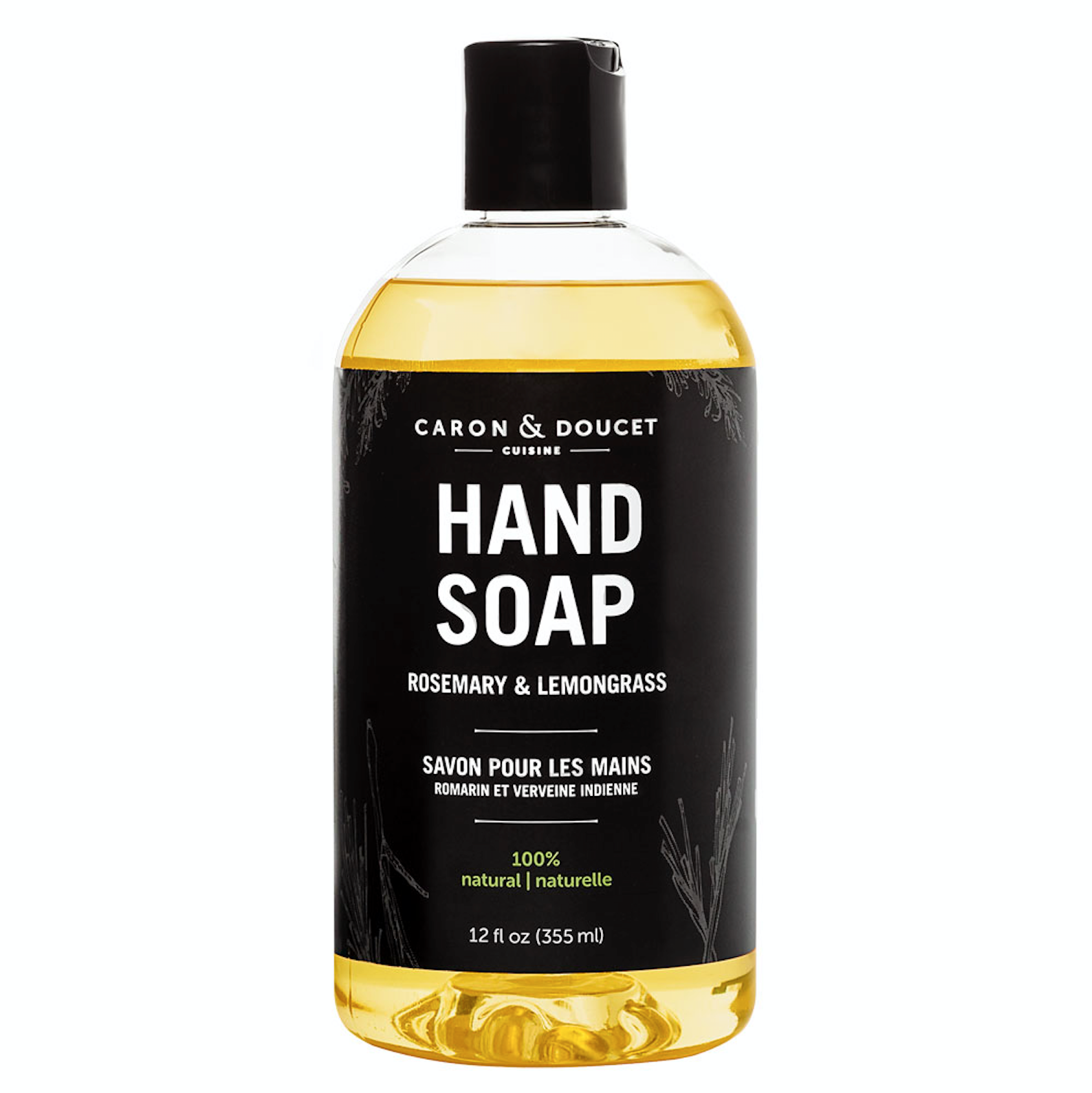 Rosemary & Lemongrass Hand Soap, 12 oz