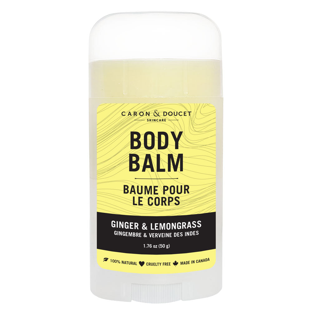 Ginger & Lemongrass Body Balm, 50g