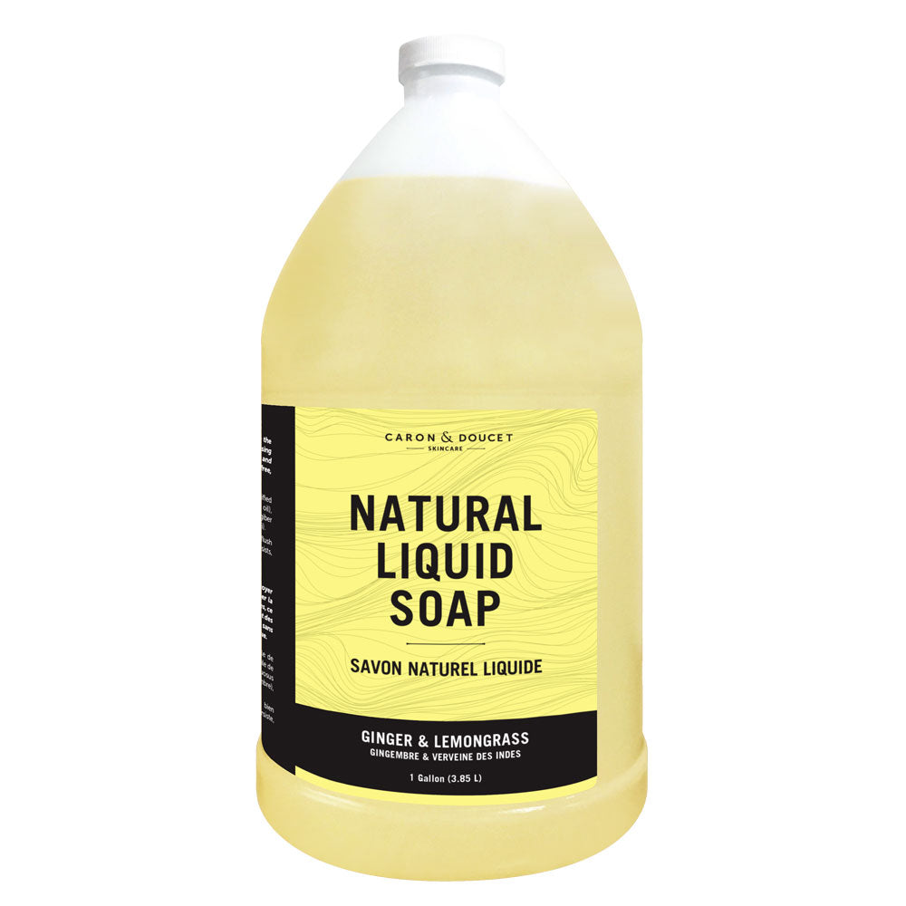 Ginger & Lemongrass Liquid Soap, 1 Gallon