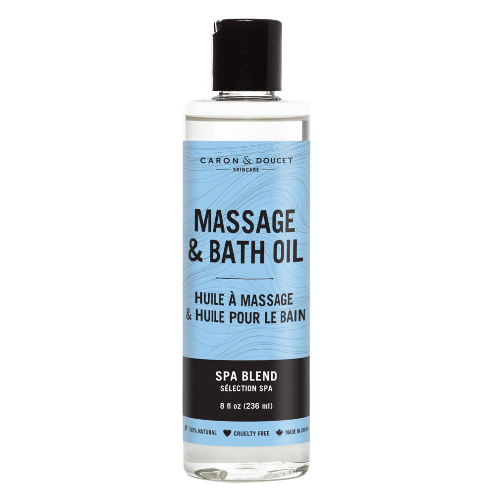 Spa Blend Massage Oil, 8oz