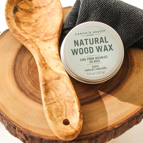 Natural Wood Wax Finish