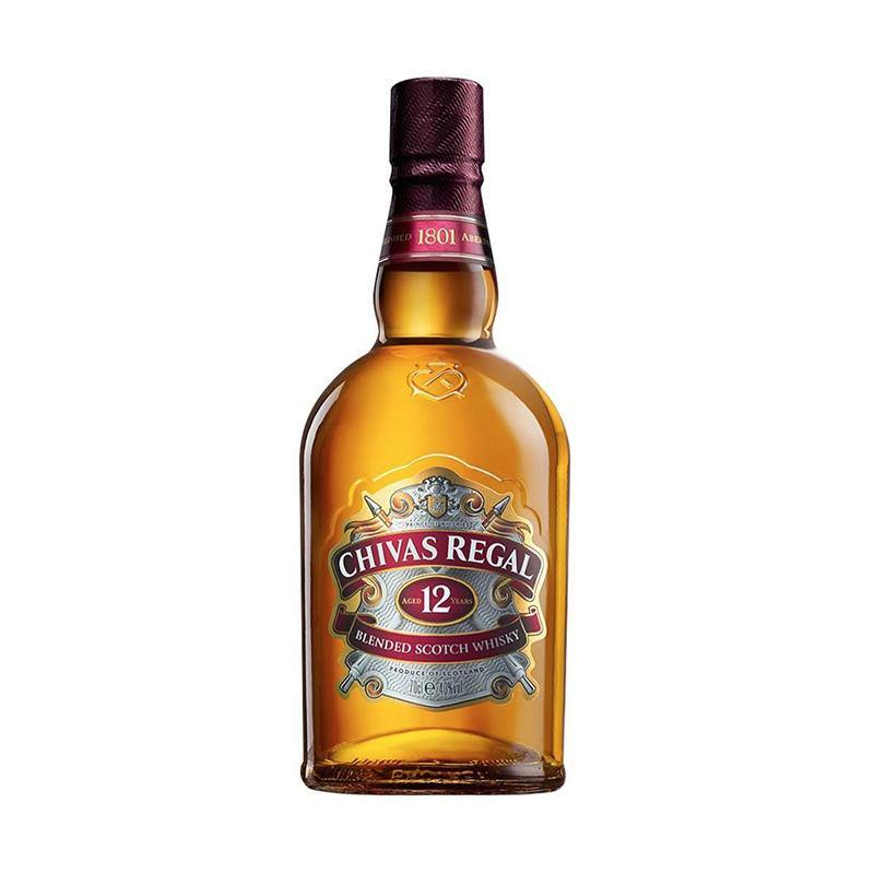 Chivas Regal 12 Year Old Scotch