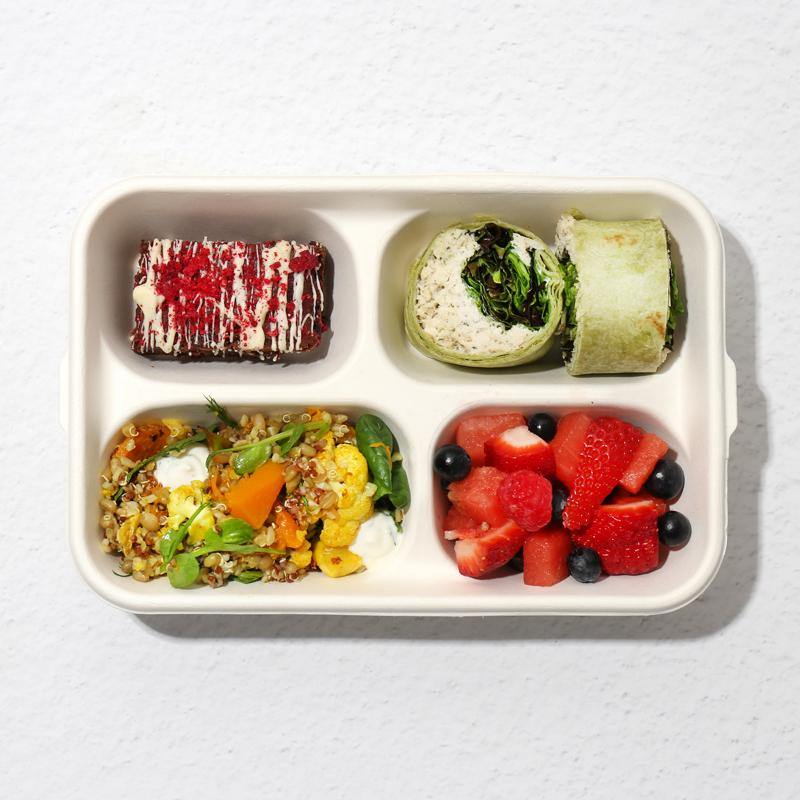 Light Bento Lunch for One