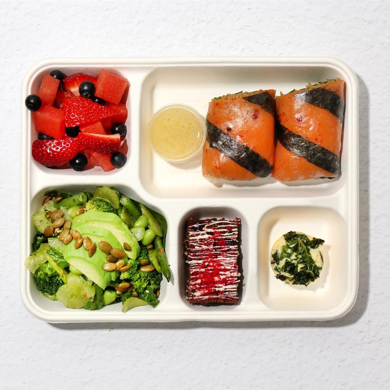 Gluten Free Bento Lunch for One (V)