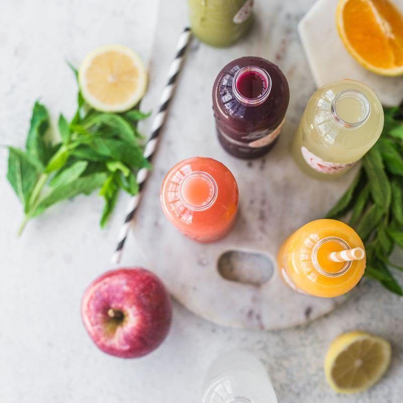 Individual Cold-Pressed Juices