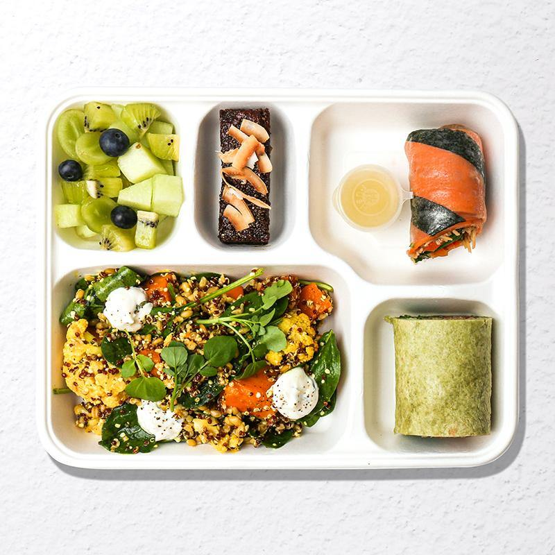 Vegetarian Bento Lunch for One