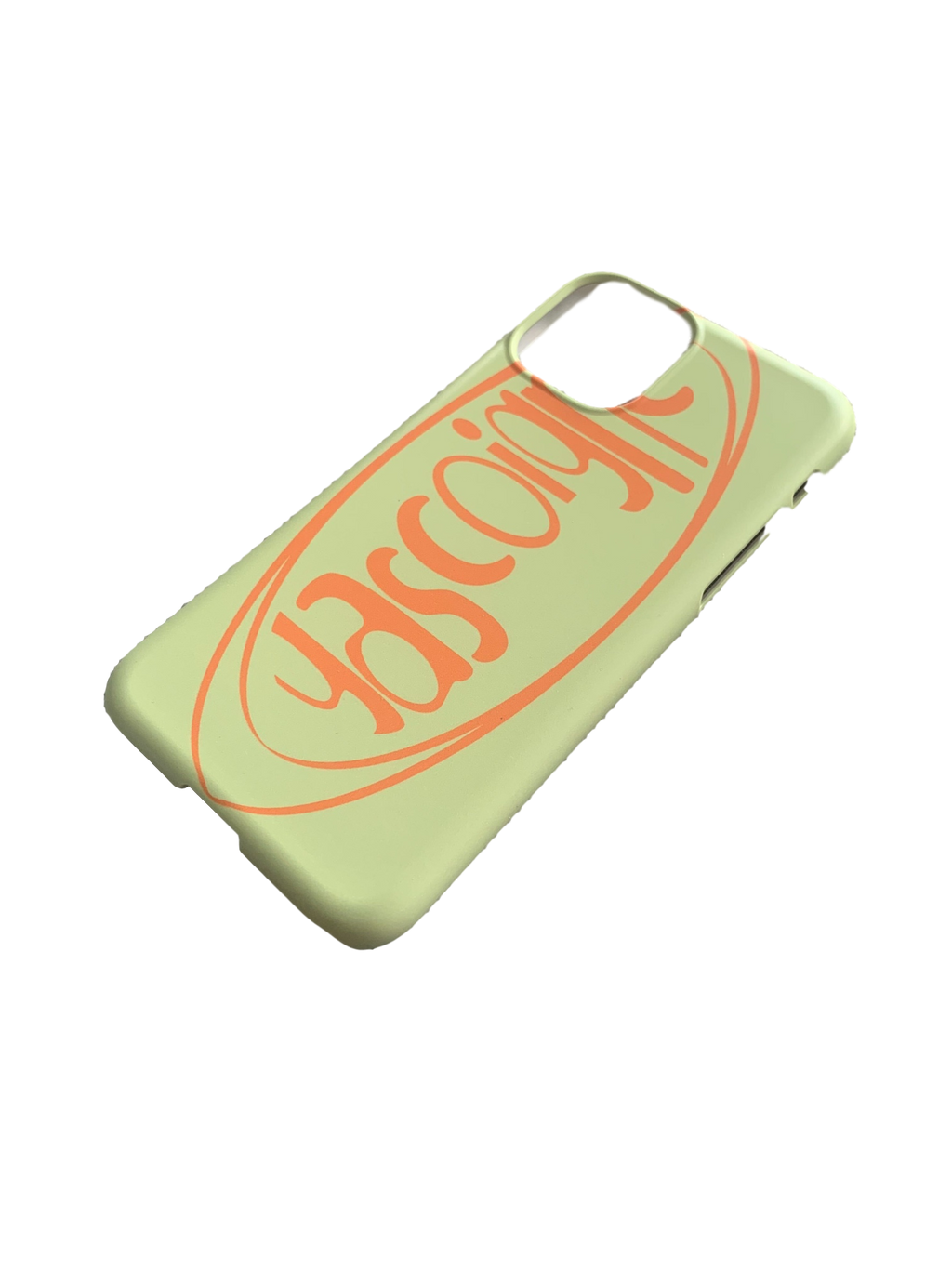 Gascoigne Logo Phone Case (Green / Orange)