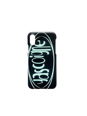 Gascoigne Logo Phone Case (Black / Sky Blue)