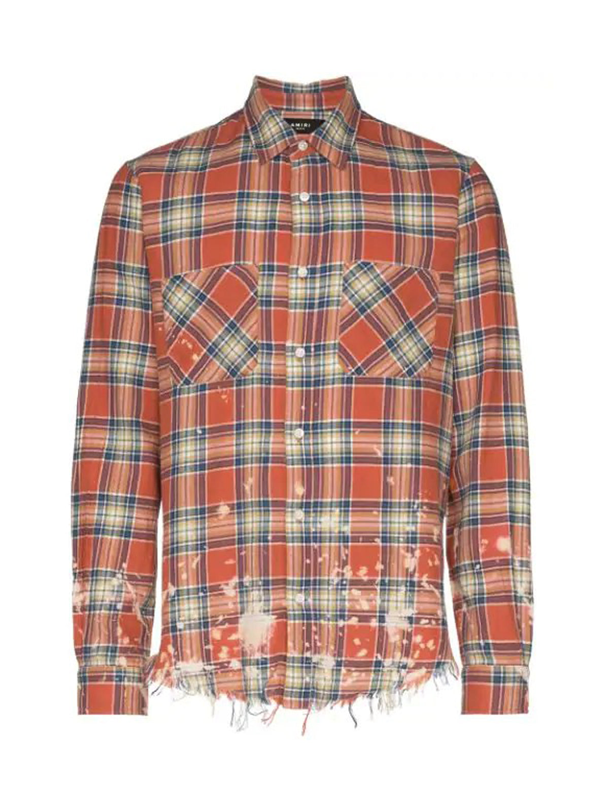 CAMICIA SPLATTER CHECK