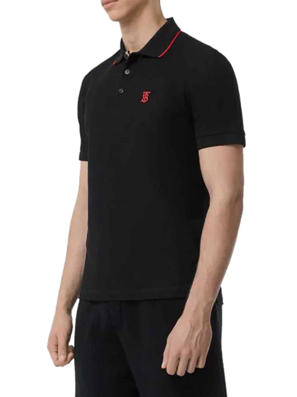 Polo Icon Stripe Placket