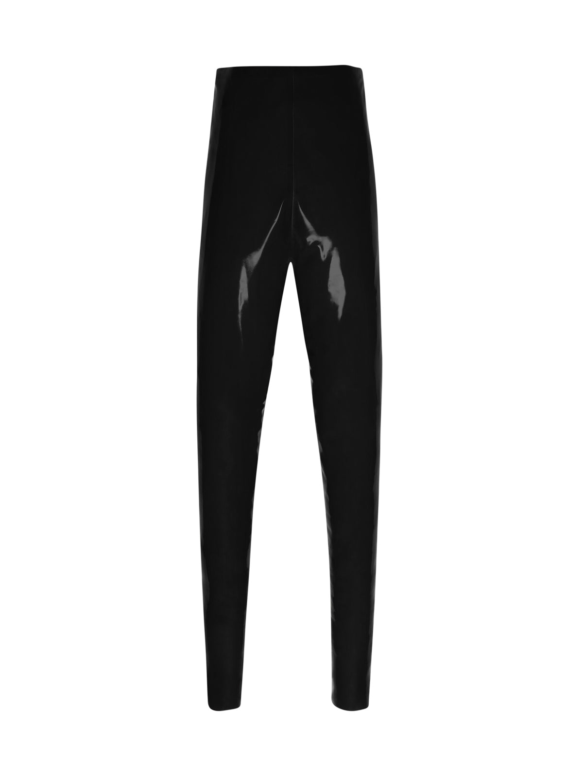 LEGGINGS A VITA ALTA IN LATEX