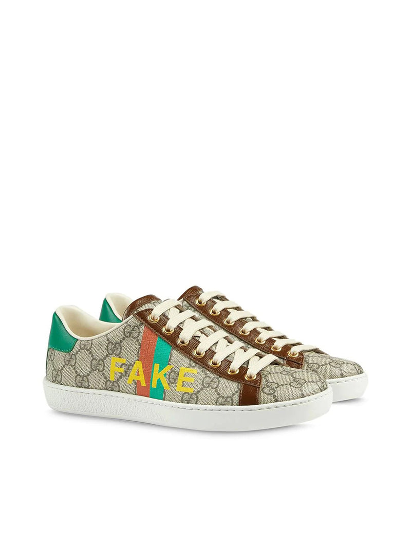 Sneakers Fake/Not Ace con stampa