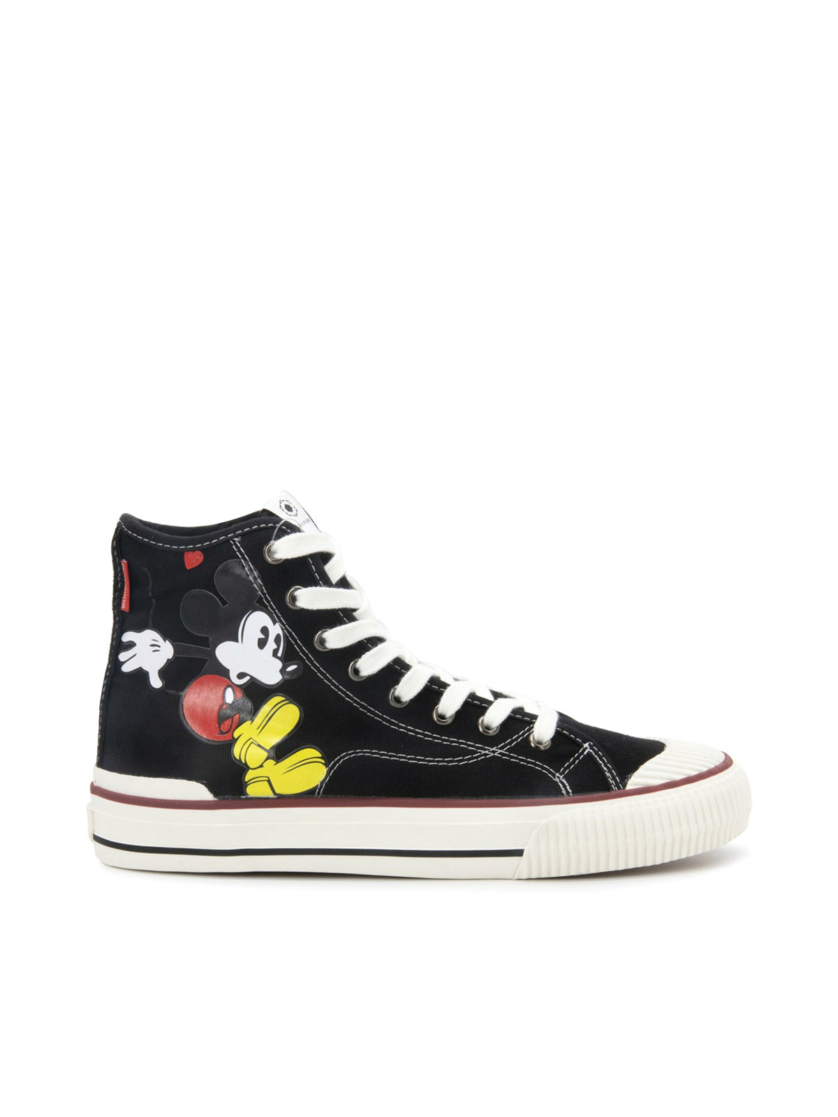 SNEAKERS HIGH-TOP TOPOLINO NERO